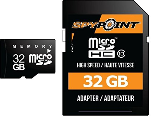 Spypoint MICRO-SD-32GB Memory Card Micro-SD 32GB by Spypoint