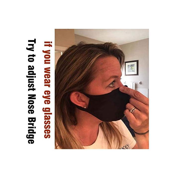 51FAqcjESnL 1). La máscara facial era de muy buena calidad. Le recomendamos encarecidamente que lo compre por FBA, recibirá en 1-5 días de trabajo como máximo.si la máscara de boca de la cara no se cumplió por Amazon, estaba muy sucio y pobre, y lo recibirá en 2 meses a 8 meses. 2). ULTRA SOFT Y COMFORTABLE WEAR: Capas de algodón transpirable con un centro de anticontreción de propileno de bloque completo, haciendo de nuestra máscara la opción superior en el mercado. 3). RE-USABLE y WASHABLE: Ahorre dinero de máscaras faciales desechables endebles y con picazón. Estas máscaras de limpieza se pueden lavar con agua y jabón. Se seca rápidamente y vuelve a funcionar.
