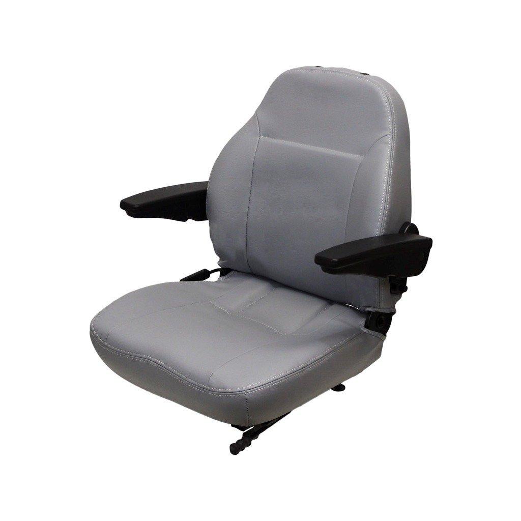 Terrific Amazon Com Concentric Universal Two Piece Gray Vinyl Seat Beatyapartments Chair Design Images Beatyapartmentscom