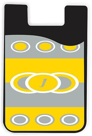 Amazon Com Rikki Knight Letter J Freesia Yellow Circle Designs