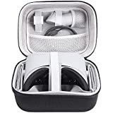 Esimen Hard Travel Case for Oculus Go Virtual Reality Headset and Controllers Accessories Carry Bag Protective Storage Box (Black+Gray)