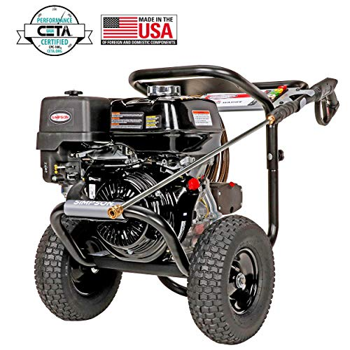 SIMPSON Cleaning PS4240 PowerShot Gas Pressure Washer Powered by Honda