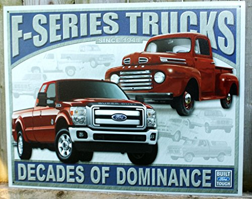 Ford - F-series Trucks Metal Tin Sign 16