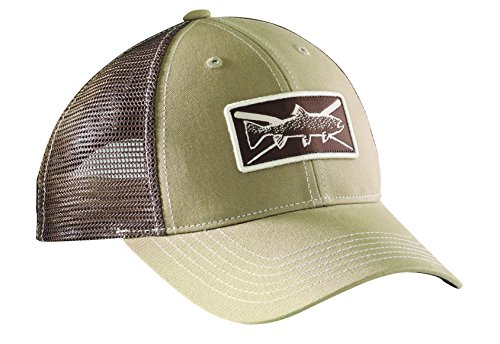 Flying Fisherman H1750 Trout Trucker Hat - Hats Fisherman Flying