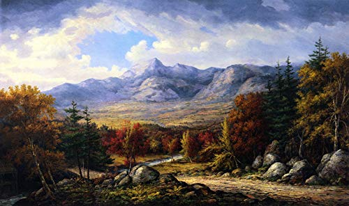 Mount Canvas Collection (John White Allen Scott Mount Chocorua 1880 Private Collection 30