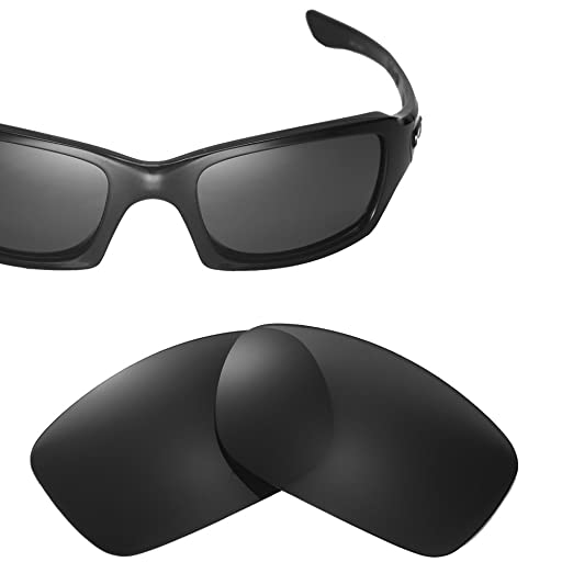 54eb04d399d Amazon.com  Cofery Black Replacement Lenses for Oakley Fives Squared ...