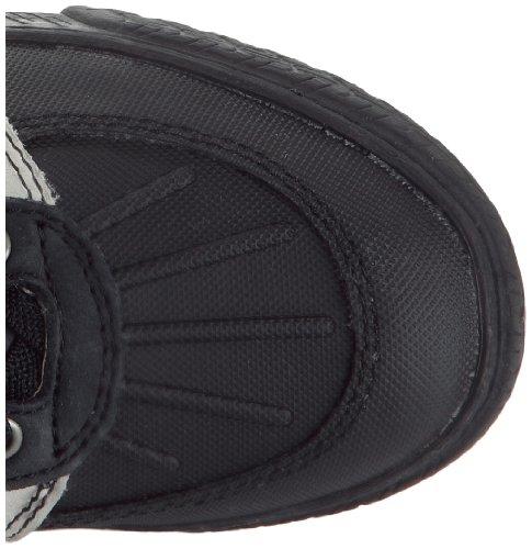 P-L-D-M by Palladium Bivouac Dia - Zapatillas de cuero para niño negro - Schwarz (Noir (Black))