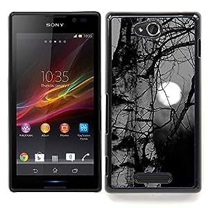 "Planetar ( Nubes Tophat Significado Deep Dark"" ) Sony Xperia C Fundas Cover Cubre Hard Case Cover"