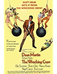 Dean Martin and Sharon Tate and Elke Sommer and Nancy Kwan and Tina Louise in The Wrecking Crew art 11x17 Mini Poster