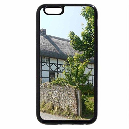 iPhone 6S / iPhone 6 Case (Black) Sussex Villages 2