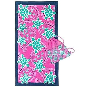 3C4G Cotton Print Pattern,Multi Color - Beach Towels