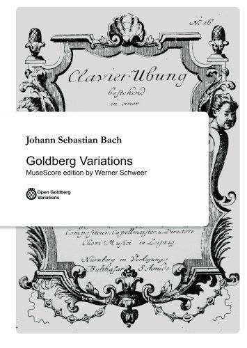 Goldberg Variations: Bach-Werke-Verzeichnis 988