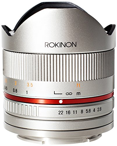 Rokinon RK8MS-E 8mm F2.8 Series 2 Fisheye Lens for Sony E Ca