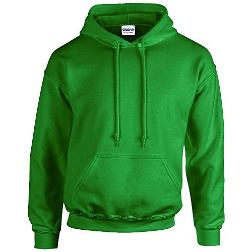 À nbsp;manches Vert Longues nbsp;et À Homme nbsp;pour nbsp;sweat Capuche Gildan shirt wqxfBHFx4