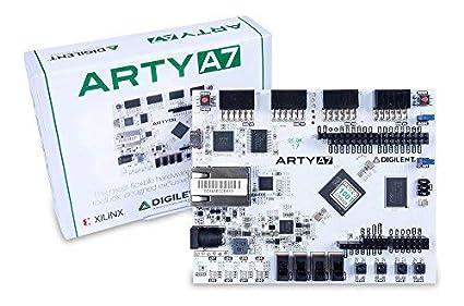 Digilent Arty Board Artix-7 FPGA Development Board for Makers and Hobbyists  - 410-319