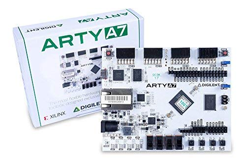 Digilent Arty A7: Artix-7 FPGA Development Board for Makers and Hobbyists  (Arty A7-35T)