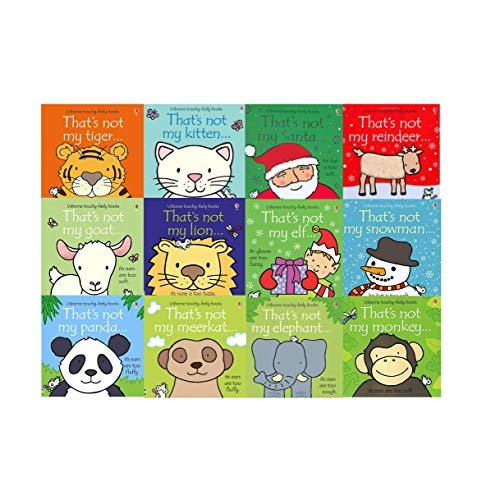 Toddler Collection (That's Not My Toddlers 12 Books Collection Set Pack Fiona Watt (Touchy-Feely Board Books))