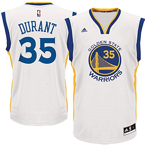 2017 new Kevin Durant #35 Golden State Warriors Men's White Home Replica Jersey (size medium) ()