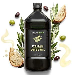Gut Health Shop 51FAwAGUq7L._SS300_ AmazonFresh Italian Extra Virgin Olive Oil, 2 Liter
