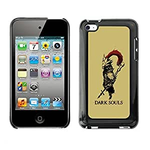 GagaDesign Phone Accessories: Hard Case Cover for Apple iPod Touch 4 - Dark Soul