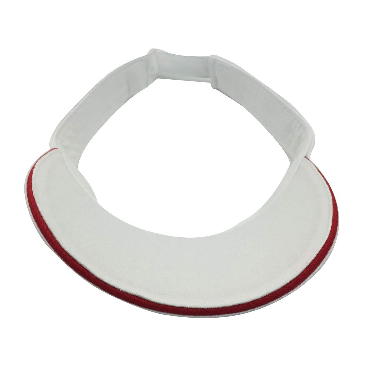 xiaopeng wang Unisex Best Visors Cap Small Embroidery Summer Cap Sports Twill Visor 100/% Cotton