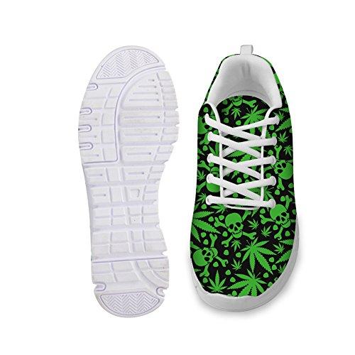 Zapatilla de deporte para mujer Slip on Air Fashion, Vertiver, 7 M US