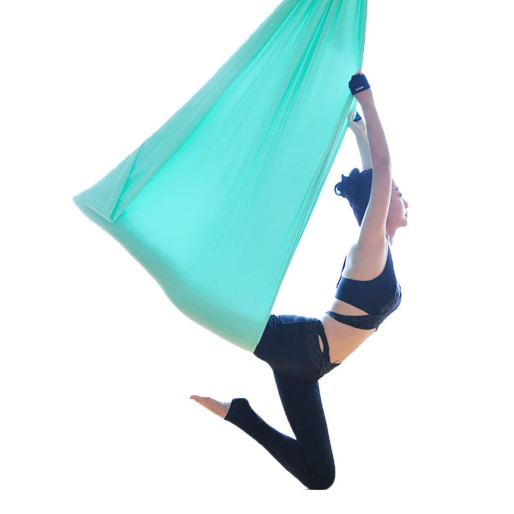 Yoga Aerial Aerial Trapez Anti-Schwerkraft Schlinge Home Aerial Hängematten-Set Advanced Aerial Silk Equipment, Mit Chrysanthemenseil, Karabiner Aerial Fitness Set