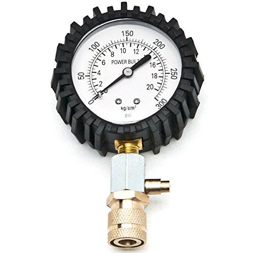 Biltek Engine Cylinder Compression Tester Gauge Kit Professional Mechanics Gas Engine + KapscoMoto Keychain by Biltek (Image #3)