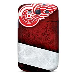 New Detroit Redwings Tpu Case Cover, Anti-scratch FjT4828gYZP Phone Case For Galaxy S3