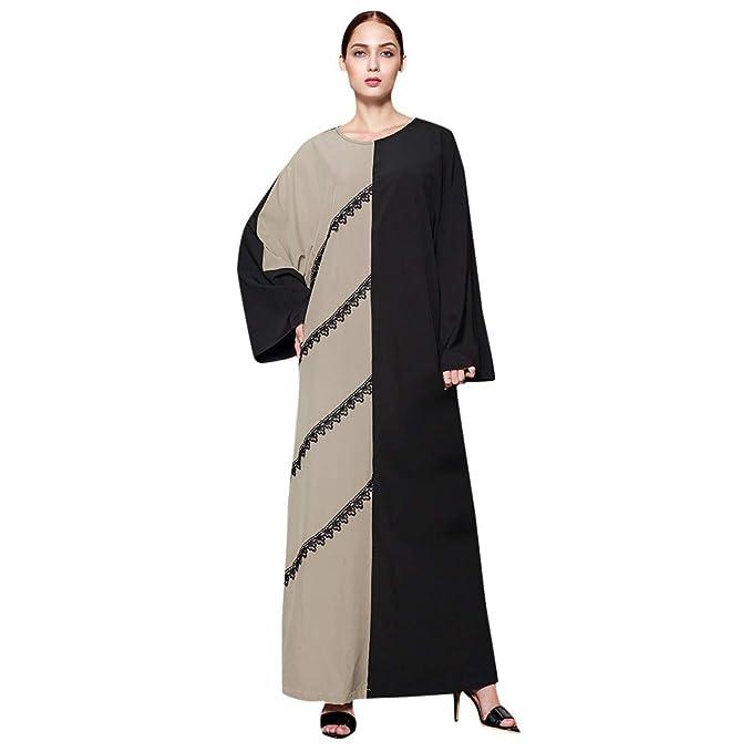 Amazon.com: HYIRI Vestido de oración islámica para mujer ...