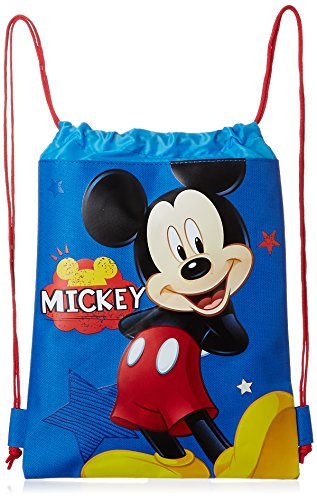 Blue Mickey Mouse Drawstring Backpack product image