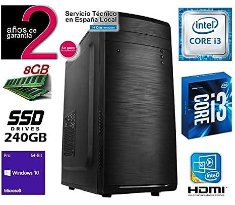 Megamania Torre Ordenador SOBREMESA Intel Core i3 3.06Ghz | 8GB ...