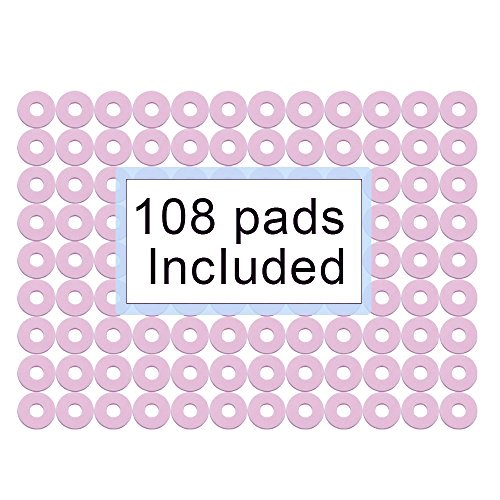 Corn Cushions 1'' Corn Pads Sticky-Waterproof for Corn Callus and Feet Sore 108 count by Welnove