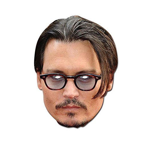 Celebrity Costumes Party City (Celebrity Masks - Johnny Depp)