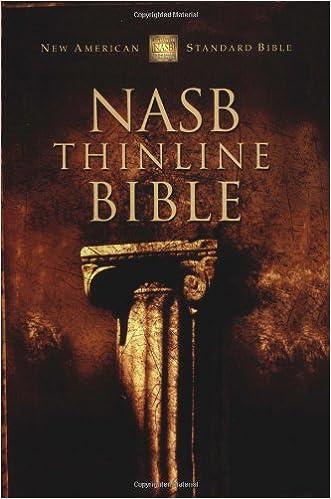 NASB Thinline Bible (NASB Thinline)