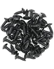 Reliable Hardware Company RH-5112BO-A 1/2-Inch Black Oxide Wood Screw and Wax