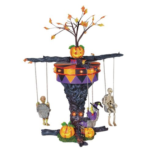 Best Towns For Halloween (Department 56 Accessories for Villages Swinging Ghoulies Accessory)