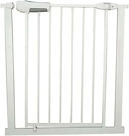 ZEMIN Barrera De Seguridad Escalera Puerta for Niños Perros Doble Cerradura Adulto Una Mano Abre La Puerta De Cierre Automático, H 76CM (Color : 76cm, Size : W157-159cm): Amazon.es: Hogar