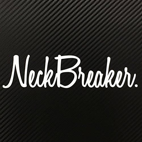 Neck Breaker JDM Style Decal Sticker Custom Die-cut Vinyl Turbo Lowered Hella Honda Acura Drift Illest Import Dope