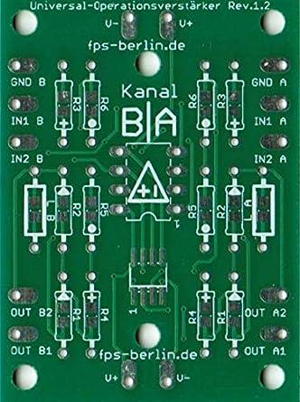 3 x placa universal de amplificador Operacional