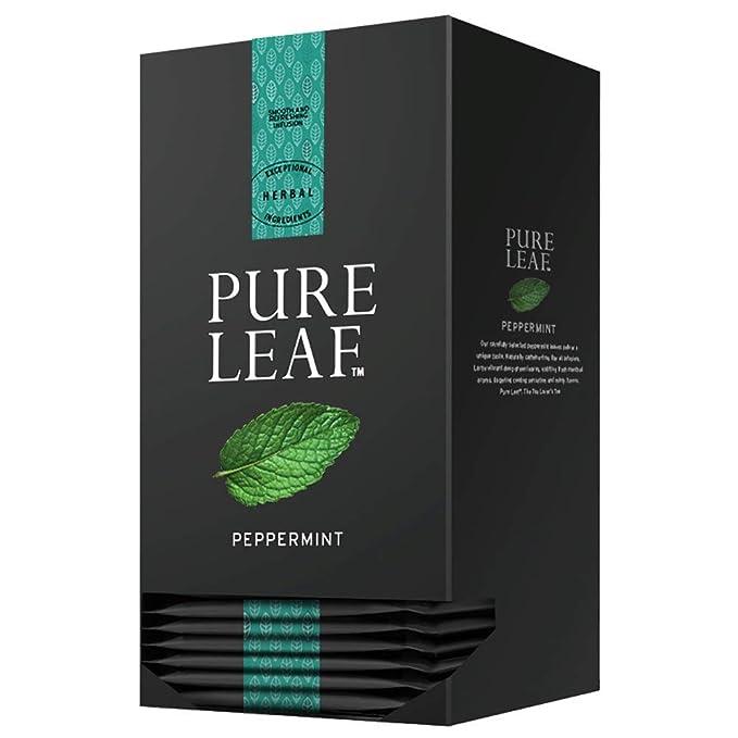 Pure Leaf Infusión premium de hierba - 3 cajas de 20 pirámides (Total 60 pirámides