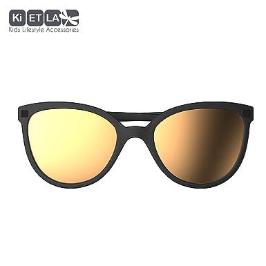Ki ET LA La Butterfly T6 Gafas de Sol, Negro, 5 Unisex bebé ...