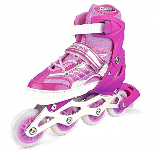 虐待クリーナー灰HAKOTOYO 子供用 インラインスケート ワンタッチサイズ調整式 全5色 3サイズ