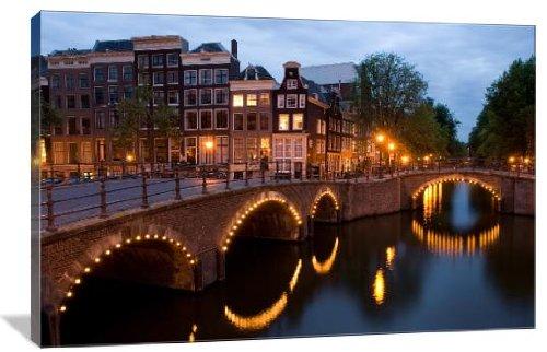 Amsterdam Bridge at Night 48