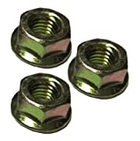 Husqvarna Craftsman Poulan Chainsaw (3 Pack) Replacement Bar Mount Nut # 530015917-3pk