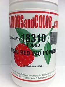 Amazon.com: FD&C Red #40 Powder 454 Grams: Kitchen & Dining