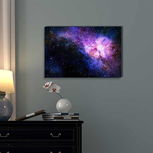 Starry Deep Outer Space Nebua and Galaxy Concept of Universe Wall Decor