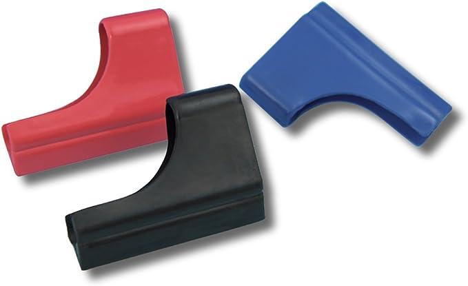 Show Chrome Finger Visor Wiper Black//Blue//Red One Size