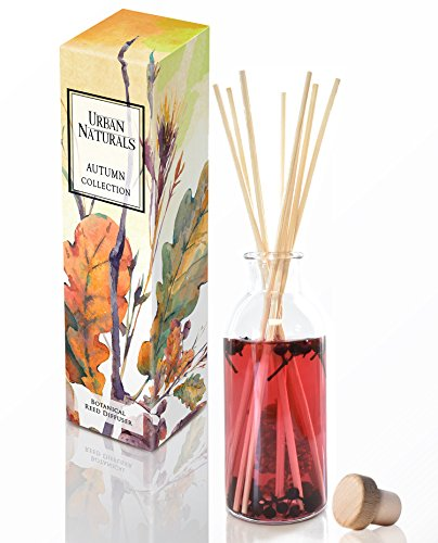 - Urban Naturals Wild Berry Scented Reed Diffuser Set | Fruity Mixed Berries, Wine with Notes of Strawberry, Raspberry, Rose & Violet | Made in The USA