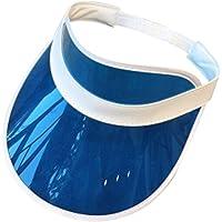 osfanersty Mujeres Hombres PVC Transparente Sombrero De Plástico